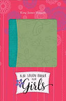 Study Bible for Girls-KJV-Butterfly Design