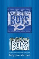 KJV Study Bible For Boys: Blue Prism, Paperback