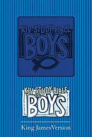 KJV Study Bible For Boys: Blue, Duravel Soft Cover