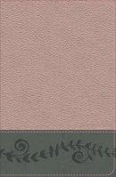 KJV Study Bible for Girls Pink Pearl/Gray, Vine Design Leathertouch