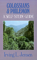 Colossians and Philemon; Self Study Guide