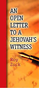 Open Letter To A Jehovahs Witness 10 Pack