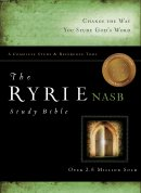 NASB Ryrie Study Bible: Black, Bonded Leather, Thumb Indexed