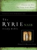 NASB Ryrie Study Bible: Hardback, Thumb Indexed