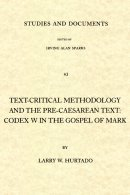 Text-critical Methodology And The Pre-caesarean Text