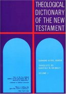 Theological Dictionary of the New Testament : Vol 1 alpha�gamma