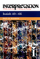 Isaiah 40-66 : Interpretation Bible Commentary