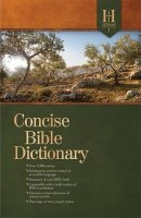 Holman Concise Bible Dictionary Hb