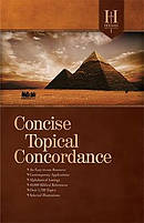 Holman Concise Topical Concordance Hb
