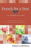 Preach For A Year Vol 3 Pb