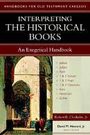 Interpreting the Historical Books  Exegetical Handbook