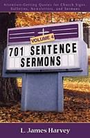 701 Sentence Sermons  Vol 4 PB