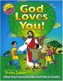 God Loves You Colouring Book