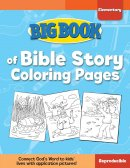 Big Book Of Bible Story Colouring Pages (For Elementary Kids)