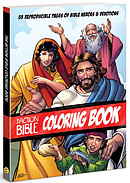 The Action Bible Coloring Book
