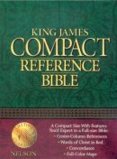 KJV Compact Bible: Black, Bonded Leather, Reference