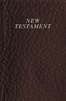 KJV Pocket New Testament:Burgundy, Leatherflex, Red Letter