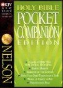 NKJV Pocket Companion Bible; Burgundy, Bonded Leather