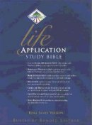KJV Life Application Study Bible: Burgundy, Bonded Leather