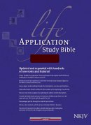 NKJV Life Application Study Bible: Burgundy, Bonded Leather, Thumb Index