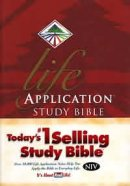 NIV  Life Application Study Bible: Hardback, Thumb Index