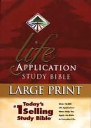 NIV Life Application Study Bible: Hardback,  Large Print