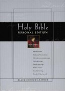 NLT Personal Bible: Black, Bonded Leather