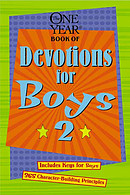 The One Year Book of Devotions for Boys 2