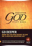 NLT Discover God Study Bible: Hardback