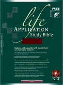 NLT Life Application Study Bible: Burgundy, Bonded Leather