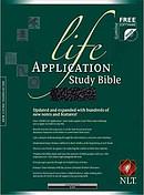 NLT Life Application Study Bible: Black, Bonded Leather
