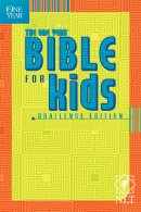 NLT One Year Bible for Kids  Challenge Bible: Paperback