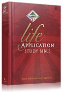 NIV Life Application Study Bible: Hardback