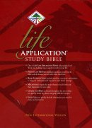 NIV Life Application Study Bible: Black, Bonded Leather