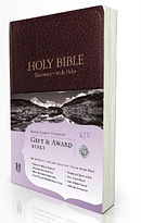 KJV Gift and Award Bible: Burgundy