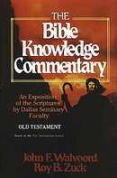 Bible Knowledge Commentary - the Old Testament
