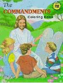 Commandments Coloring Book
