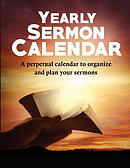 Yearly Sermon Calendar: A Perpetual Calendar to Organize and Plan Your Sermons