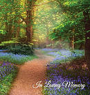 """""""In Loving Memory"""" Funeral Guest Book, Memorial Guest Book, Condolence Book, Remembrance Book for Funerals or Wake, Memorial Service Guest Book"""