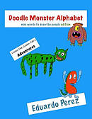 Victor the Green Cat's Adventures - Doodle Monster Alphabet: Nice Words to Describe People Edition