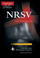NRSV Popular Text Edition Black French Morocco Leather