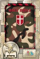 ICB Compact Kids Bible: Green Camo,  LeatherSoft