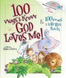 100 Ways To Know God Loves Me , 100 Songs To Love Hardback Book + CD