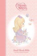 NKJV Precious Moments Bible: Pink, Hardback