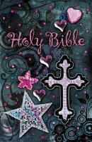NKJV Sequin Bible Black Hardback