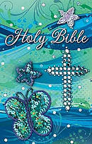 ICB Teal Sequin Bible