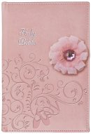 ICB Ballerina Bible Pink Imitation Leather