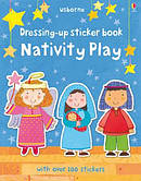 Dressing Up Sticker Book Nativity Play