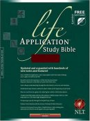 NLT Life Application Study Bible: Burgundy, Leather