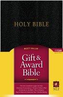 NLT Gift & Award Bible: Black